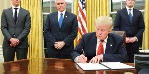 Donald Trump redecora con color dorado la Oficina Oval