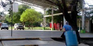 Roban escuela en horario de clases en Monterrey