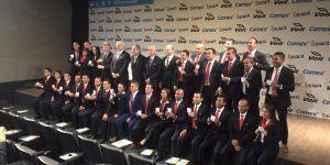 Entregan 29 gafetes FIFA 2017 a árbitros mexicanos