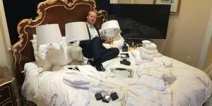 Hotel de Trump en Washington, lleno de productos extranjeros