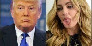 """""""No podemos caer más bajo que con Trump"""": Madonna"""