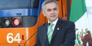 """""""Cero aumento al Metro"""": Mancera"""