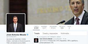 José Antonio Meade explica a tuiteros el aumento a la gasolina