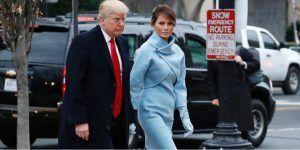 Melania Trump viste Ralph Lauren durante ceremonia de investidura