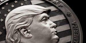 Moneda especial conmemora llegada de Trump al poder
