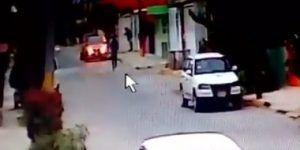 Video: sujetos roban auto en el Estado de México