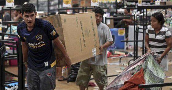 México: 90 millones de dólares en pérdidas por saqueos