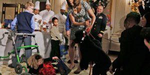 Sunny, perro de los Obama, muerde a joven en el rostro