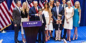 Esta es la nueva familia presidencial de Estados Unidos