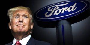 Ford y bancos critican veto de Trump a musulmanes