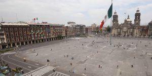 Obras en el Zócalo capitalino empezarán la siguiente semana