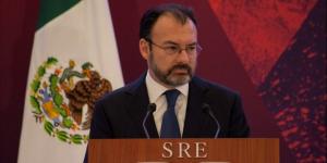 Videgaray ayudó a suavizar discurso de Trump sobre construcción del muro