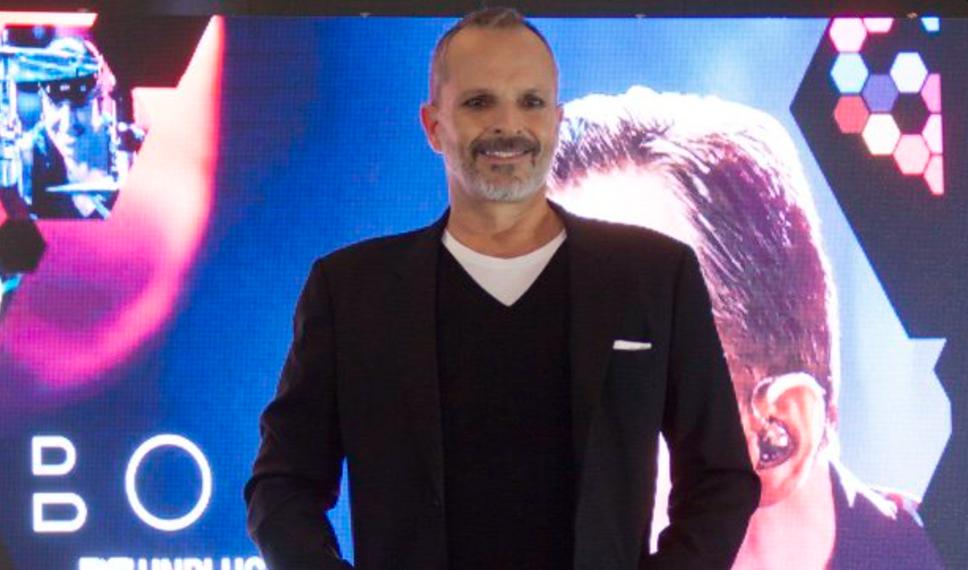 Miguel Bosé dará concierto en el Zócalo