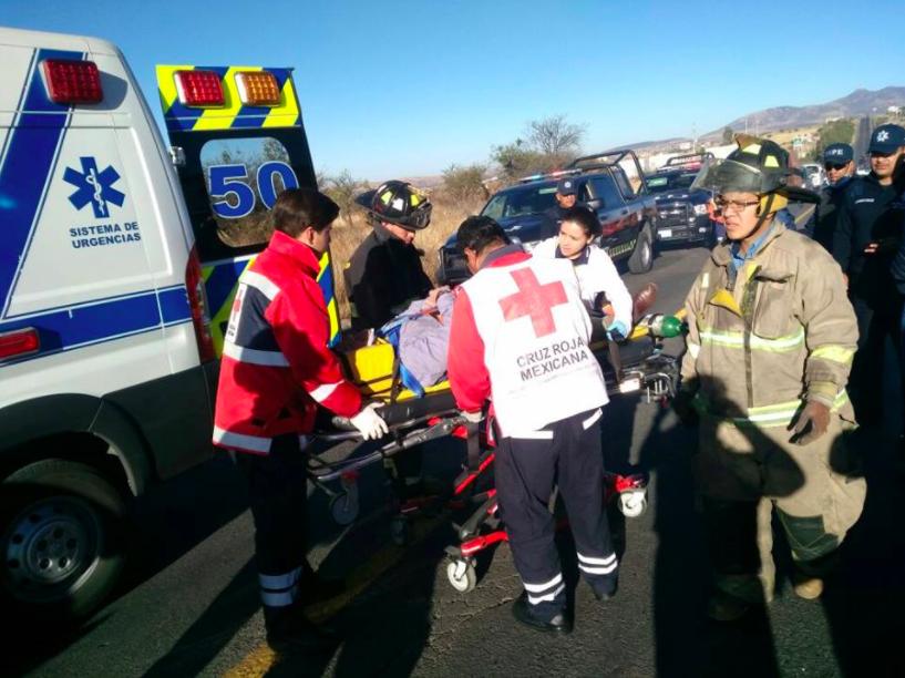 Se accidenta auto del titular de Turismo de Guanajuato