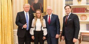 Trump pide la liberación de Leopoldo López