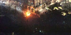 Violentas protestas en Berkeley contra discurso de Milo Yiannopoulos