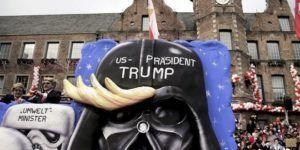 Arremeten contra Trump en carnaval alemán