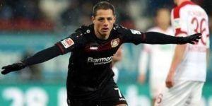 Bundesliga nombra a Chicharito como mejor jugador de febrero