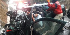 Se fugan dos hombres involucrados en accidente en Michoacán