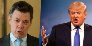 Trump apoyará a Colombia en proceso de paz
