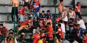 pelea estadio veracruz