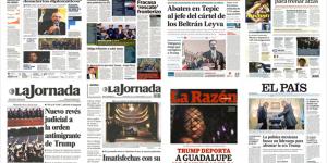 Banxico y Trump en las primeras planas del viernes