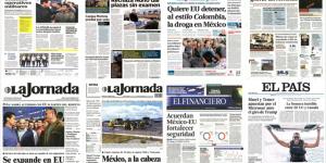 EPN y veto migratorio en primeras planas de México y el mundo
