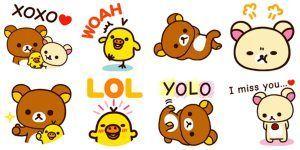 stickers I