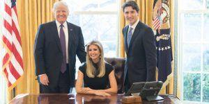 Foto de Ivanka Trump en Oficina Oval provoca reacciones en redes