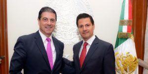 EPN se reune con el embajador de México en Estados Unidos