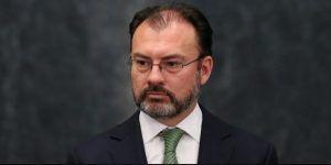 """Postura de México sobre el muro no cambiará """"ni un milímetro"""": Videgaray"""