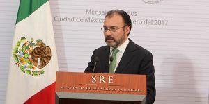 """""""Hoy más que nunca, México está abierto al mundo"""": Videgaray"""