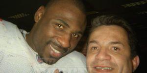 "Las múltiples ""selfies"" de Ortega con estrellas del Super Bowl"