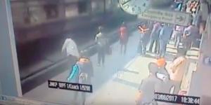 Video: hombre muere arrollado por tren tras desmayarse