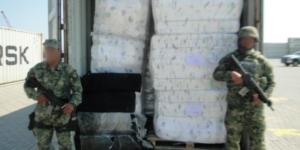 Aseguran más de cien kilogramos de cocaína en Lázaro Cárdenas