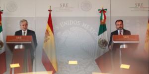 España a la orden de México para apoyarlo frente a Trump: canciller español
