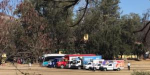 Normalistas secuestran camiones repartidores en Oaxaca