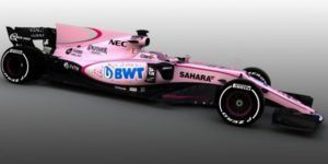 Force India rosa