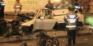 Auto accidentado en Reforma estaba en venta