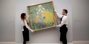 Obra subastada de Gustav Klimt rompe récord con casi 60 mdd