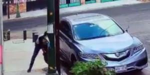 Video: roban autopartes en Benito Juárez