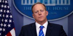Sean Spicer renuncia a la Casa Blanca