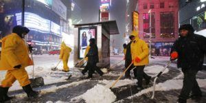 Cancelan amenaza de tormenta de nieve en Nueva York