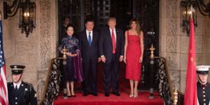Trump y Xi Jingping ya están el uno frente del otro en Florida