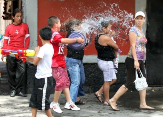 En sábado de Gloria sancionarán a quien desperdicie agua