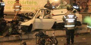 Video: momento exacto del choque del BMW en Reforma