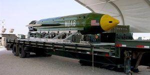 Bomba usada por EE.UU. en Afganistán fue fabricada para disuadir a Saddam Hussein