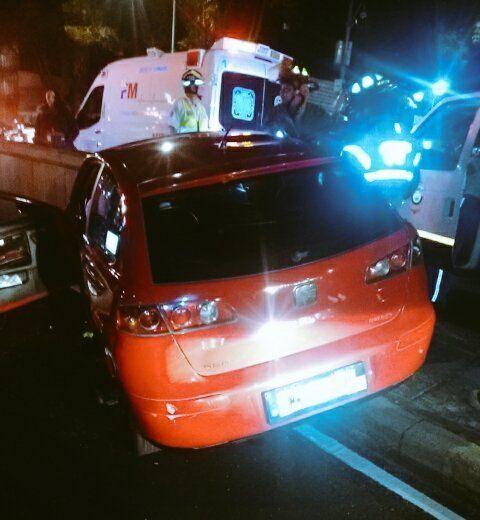 En calzada de Tlalpan tres muertos por exceso de velocidad