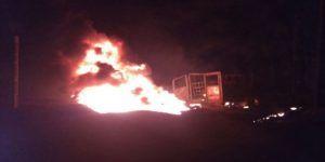 Explosión de ducto de Pemex en Puebla deja un muerto