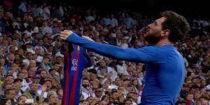 messi 2017 santiago bernabeu real madrid barcelona